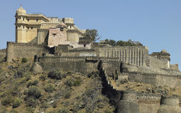 Kumbhalgarth Fort - Rajasthan - India Stock Photo