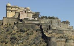 Kumbhalgarth Fort - Rajasthan - India. Kumbhalgarth Hill Fortress near Udaipur in Rajasthan in northern India Stock Photo