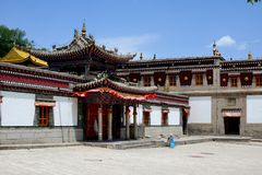 Kumbum Monastery Royalty Free Stock Photos