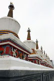 Kumbum Monastery Buddhist holy land Stock Image