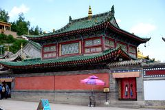 Kumbum Monastery Royalty Free Stock Images