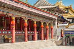 Kumbum monastery in Qinghai Province, China Royalty Free Stock Photo