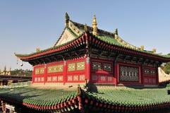 Kumbum monastery, Tibet buddhism temple Royalty Free Stock Photography