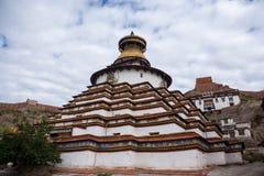 Kumbum stupa Stock Photography