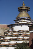 Kumbum Stupa at Gyantse in Tibet - China Stock Photos