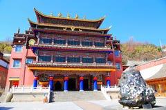Kumbumklooster, taersi, in Qinghai, China Stock Fotografie