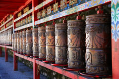 Kumbumklooster, taersi, in Qinghai, China Royalty-vrije Stock Afbeelding