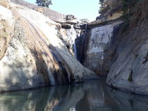 Kumeli-Wasserfall Stockfotografie