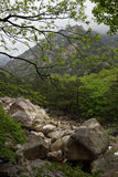 Kumgangsan mountains, DPRK (North Korea) Stock Image