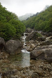 Kumgangsan mountains, DPRK (North Korea) royalty free stock photos