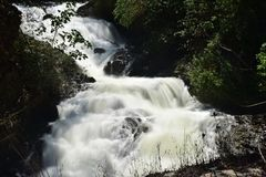 Free Kumily Waterfalls On The Hilly Route Of Kumily To Thekkady Stock Photo - 143545100