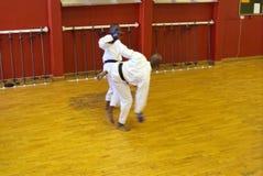 Kumite Karate fight Stock Photos