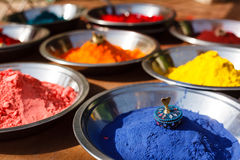 Kumkum powder, India Royalty Free Stock Photography