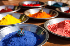 Kumkum powder, India Royalty Free Stock Photos