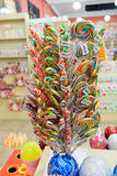 Kumluca, Turkey - June 20.2014. Traditional sweets in shop Stock Photography