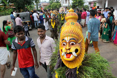 Kummatti Mahotsavam 2016 Imagem de Stock Royalty Free