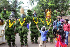 Kummatti Mahotsavam 2016 Imagem de Stock