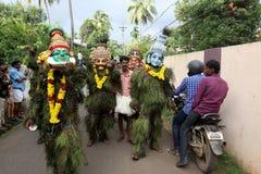 Kummatti Mahotsavam 2016 Foto de Stock Royalty Free