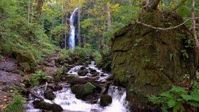 Kumoi no taki Falls in Oirase Stream