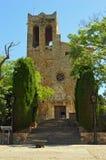 Kumpel kościół widok zdjęcie stock
