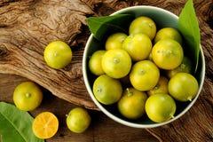 Kumquat citrus fruits Stock Image