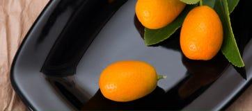 kumquat dojrzały Obrazy Royalty Free