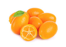 Kumquat doux Photos libres de droits