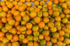 Kumquat- eller cumquatfrukter arkivbild