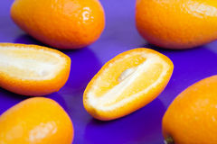 Kumquat fruits Stock Photos