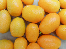 Kumquat fruitvoedsel Stock Afbeelding