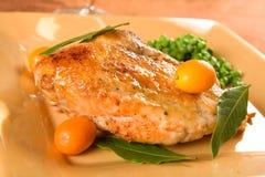 Kumquat Glazed Chicken Royalty Free Stock Image