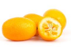 Kumquat orange Stock Photos