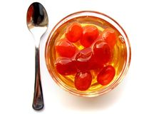 Kumquat preserves Stock Photo