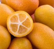 kumquat vruchten Royalty-vrije Stock Foto