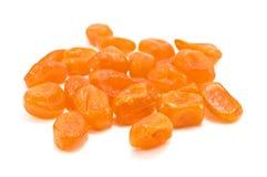 Kumquat on white Royalty Free Stock Photo