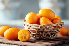 Kumquats lub Cumquats zdjęcia royalty free