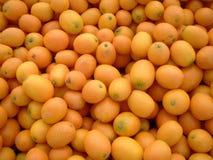 Kumquats van de Markt van landbouwers Stock Afbeelding