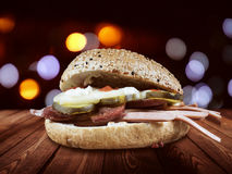 Kumru o fast food turco Fotos de Stock Royalty Free