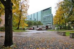 Kumu muzeum sztuki Estonia fotografia stock