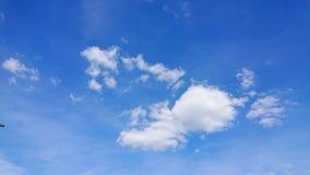 Kumulus Humilis Wolken lizenzfreie stockfotografie