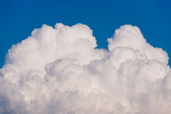 Kumulus-Wolke Stockfoto