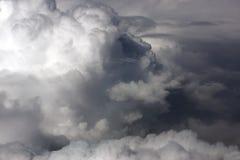Kumuluswolke vor dem Gewitter an der Unterseite Lizenzfreie Stockfotos