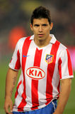 Kun Aguero of Atletico Madrid Royalty Free Stock Images