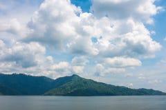 Kun Dan Prakanchon Dam and national park in thailand, taken on a Stock Image
