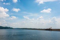 Kun Dan Prakanchon Dam and national park in thailand, taken on a Royalty Free Stock Photos