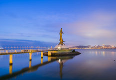 Kun iam macau city skyline Royalty Free Stock Photos
