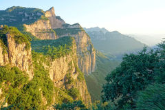Kun Mountain landskap Fotografering för Bildbyråer