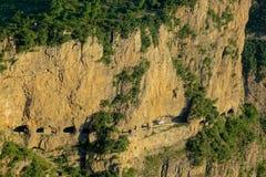Kun Mountain landskap Arkivfoto