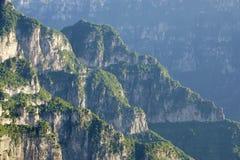 Kun Mountain landskap Arkivbilder