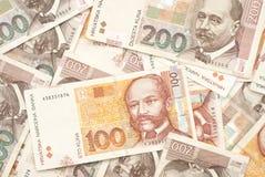 Kuna background. Money Croatian. Background money Royalty Free Stock Photos